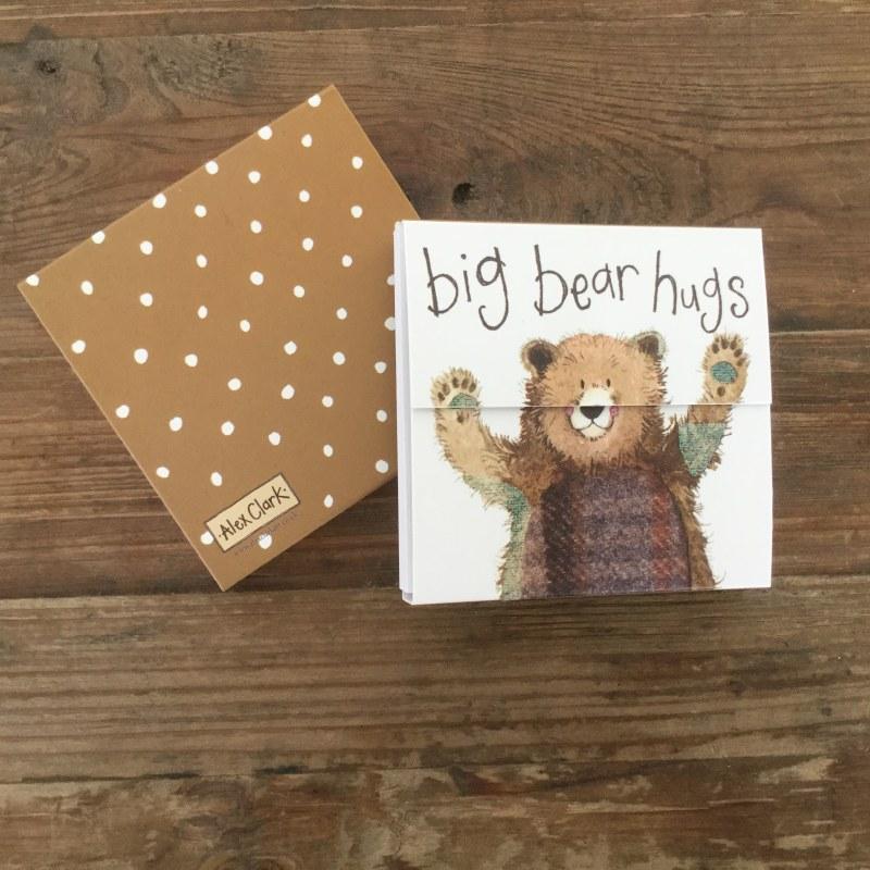 Alex Clark Mag Notes Bear Hugs