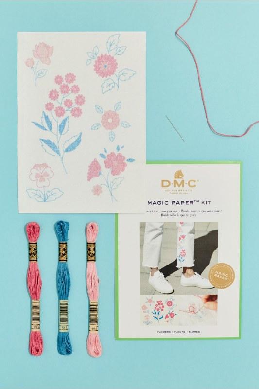 DMC Magic Paper Flower Kit