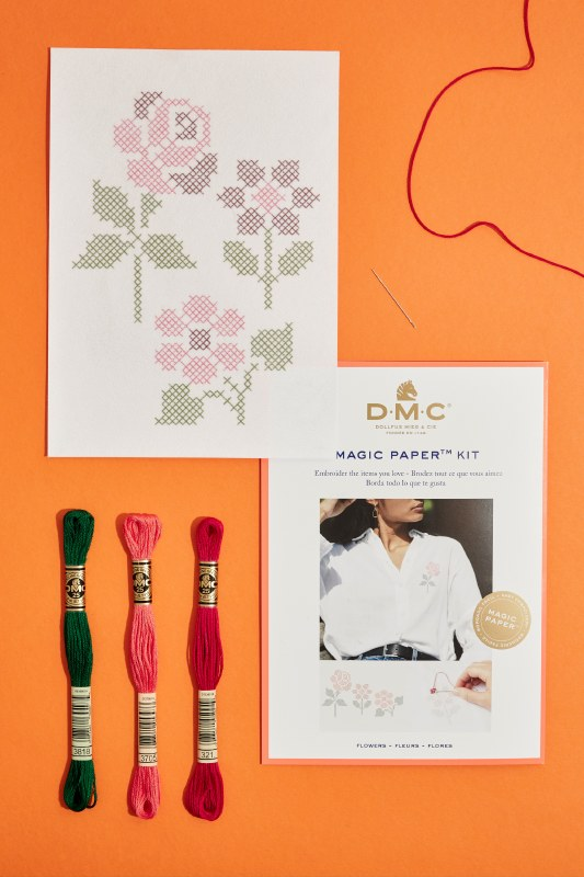 DMC Magic Paper Flower X Kit