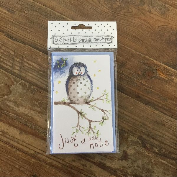 Alex Clark Notelets Little Owl