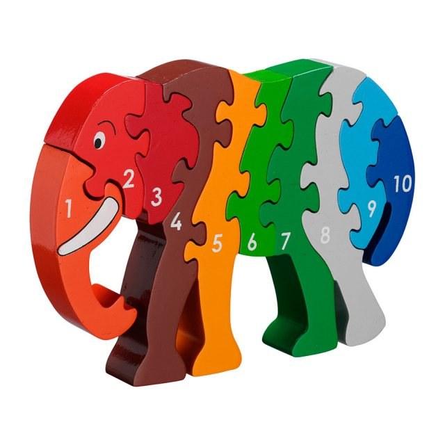 Lanka Kade Jigsaw 1-10 Elephan