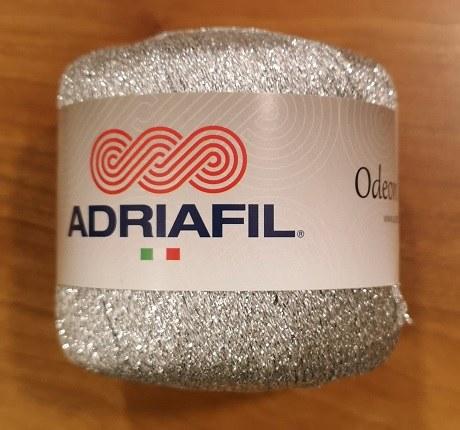 Adriafil Odeon Lame 40 Silver