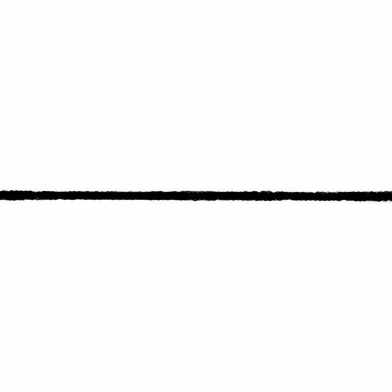Fuzzy Elastic 2mm  Black