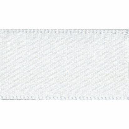 Ribbon Satin 25mm 1 White