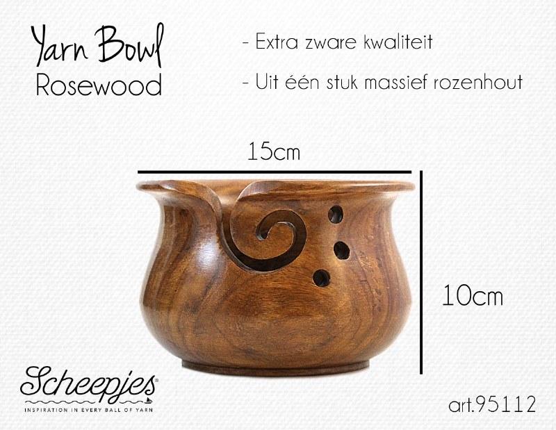 Scheepjes Yarn Bowl Rosewood