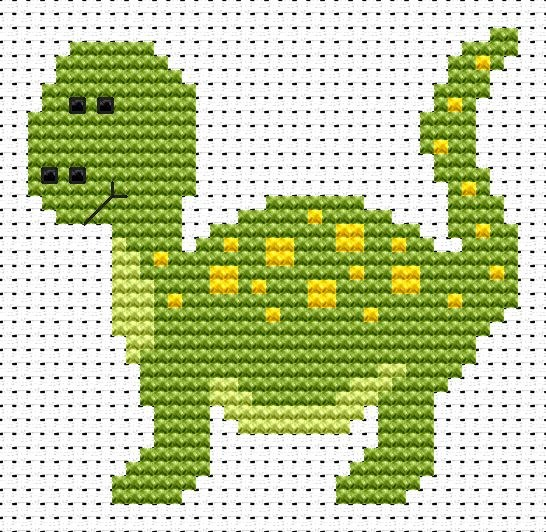 Fat Cat Sew Simple Dinosaur