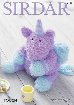 Sirdar 2486 Toy Unicorn