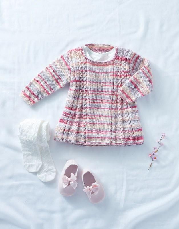 Sirdar 5295 Tunic Baby Crofter
