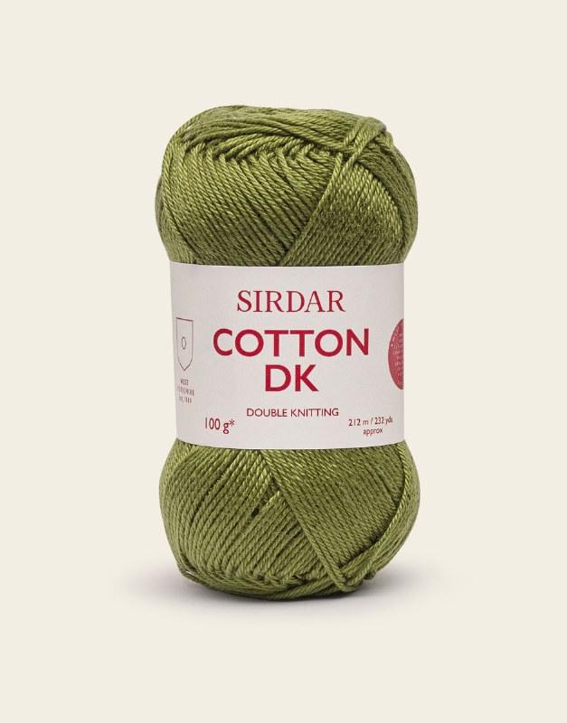 Sirdar Cotton dk 550 Olive Gro
