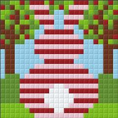Pixel Kit Striped Bunny