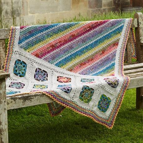 Stylecraft 9448 Blanket in dk