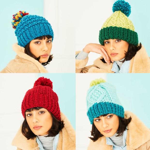 Stylecraft 9790 Hats in XL SC