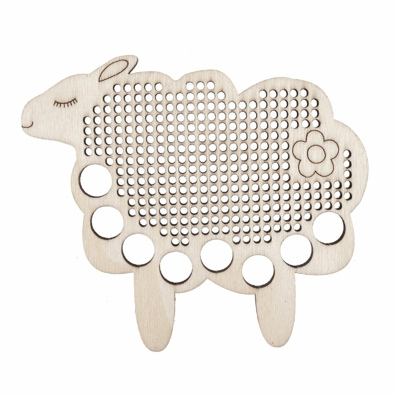 Embroidery Floss Holder Sheep