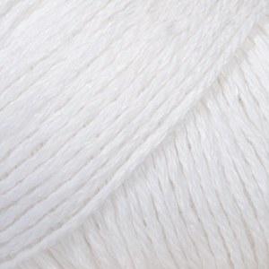 Drops Bomull Lin 01 White
