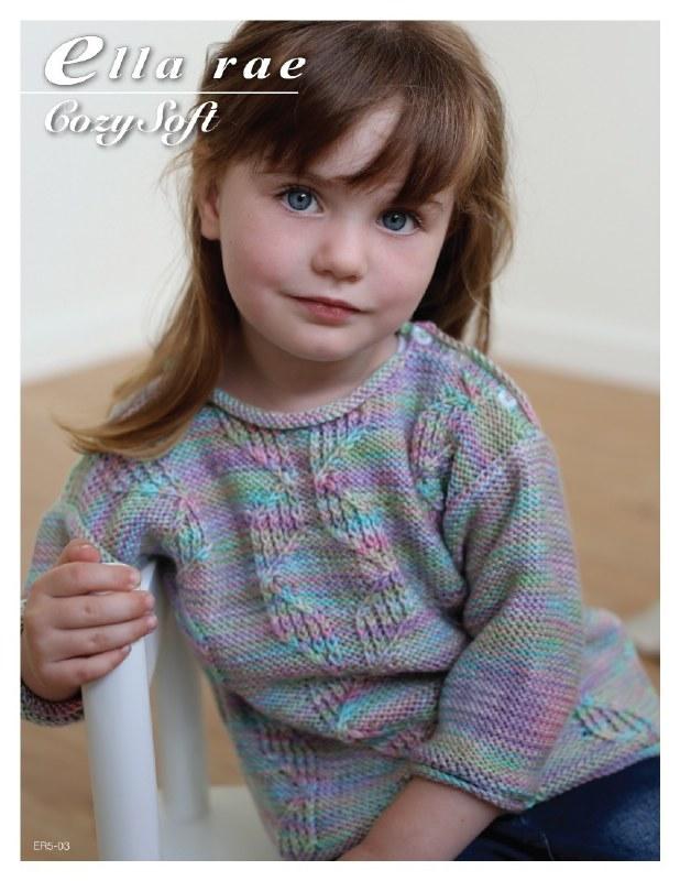 Ella Rae 5-03 Cable Sweater