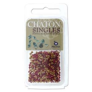 Preciosa Chaton Singles Ruby