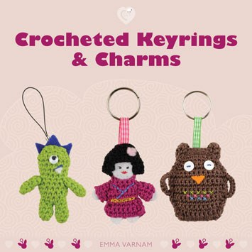 Cozy Crocheted Keyrings&Charms
