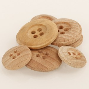 Drops Button 503 Wood Lt 15mm
