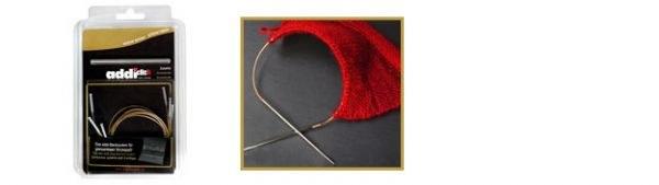 Addi Click Lace 5 cords + conn
