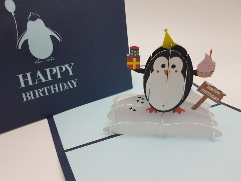 Paperbear Happy Birthday Pengu