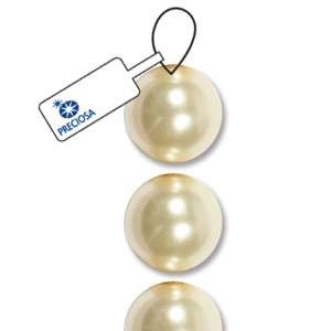 Bead Preciosa 3mm Pearl Cream