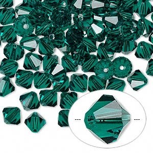 Swarovski 6mm Emerald