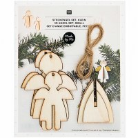 Rico Decoration Xmas Angels Sm