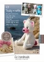 Crochet Kit Teddy & Rattle W/P