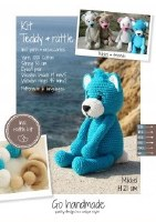Crochet Kit Teddy & Rattle W/T