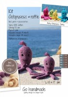 Crochet Kit Octopuses D Purple