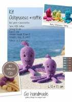 Crochet Kit Octopuses Purple