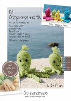 Crochet Kit Octopuses Lime