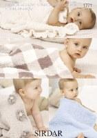 Sirdar 1771 Snowflake Blanket
