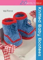 20 To Make Knitted Baby Bootee