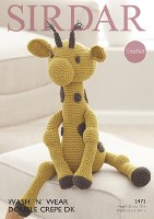 Sirdar 2473 Crochet Giraffe