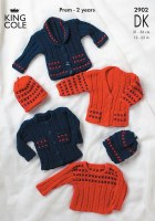King Cole 2902 double knit Dis