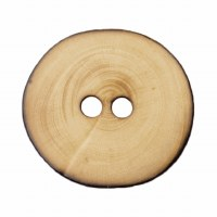 Button 15mm Wooden