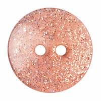 Button Glitter Gold 18mm