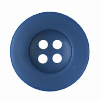 Button Round 18mm Blue