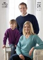 KC 3018 Sweater, cardi dk