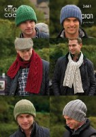 KC 3461 Men's Aran Hats