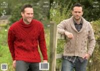 KC 3602 Mens Sweater/Cardi Ara