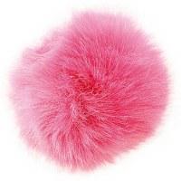 Rico Fake Fur Pompom 10cm Fuch