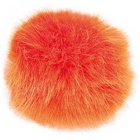 Rico Fake Fur Pompom 10cm Oran