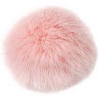 Rico Fake Fur Pompom 10cm Pink