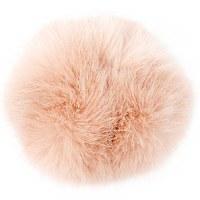 Rico Fake Fur Pompom 10cm Powd