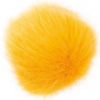 Rico Fake Fur Pompom 10cm Saff
