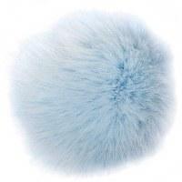 Rico Fake Fur Pompom 10cm Ice