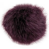 Rico Fake Fur Pompom 13cm Aube