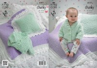 KC 4177 Baby Blankets & Cushns